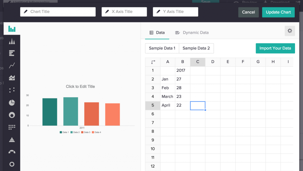 Make client reports interesting with Piktochart
