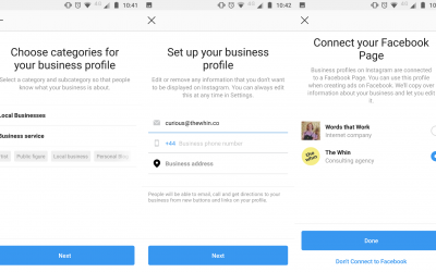 3 easy steps to set up your Instagram Business Profile