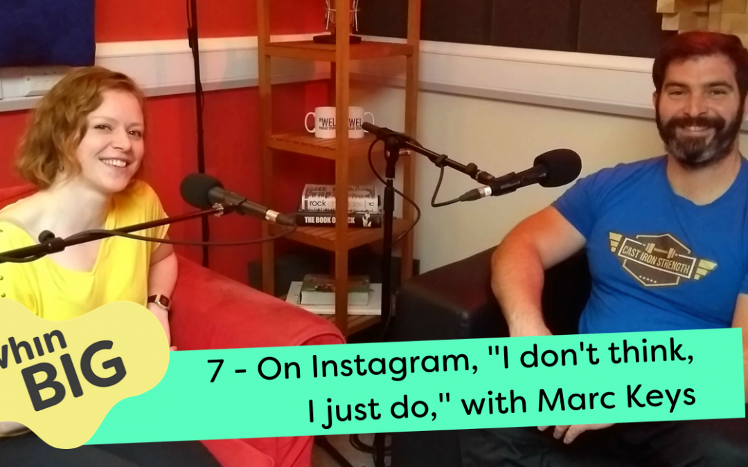 """On Instagram """"I don't think, I just do,"""" with Marc Keys"""