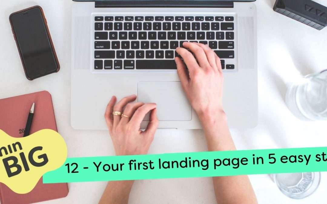 Create your first landing page in 5 easy steps