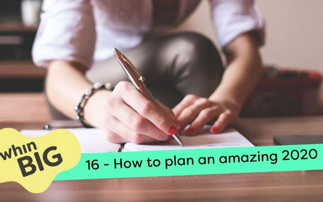 How to set your goals for an amazing 2020