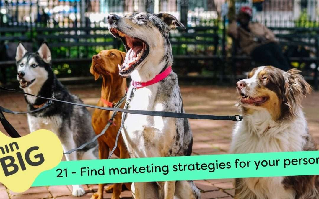 Find marketing strategies for your personality