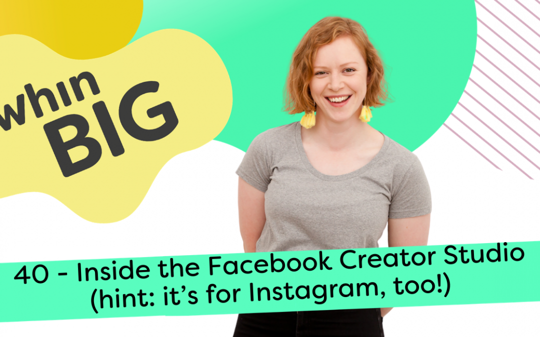 Inside the Facebook Creator Studio (hint: it's for Instagram, too!)