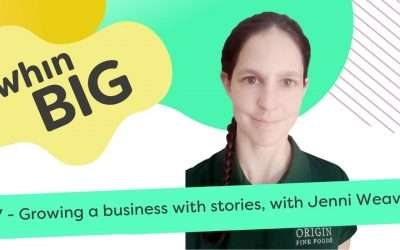 Growing a business with stories, with Jenni Weaver
