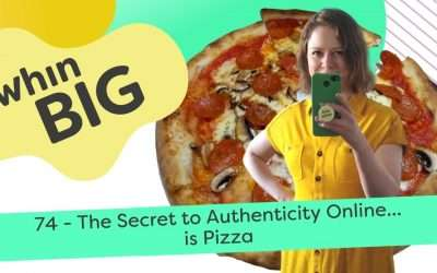 The secret to authenticity online… is pizza